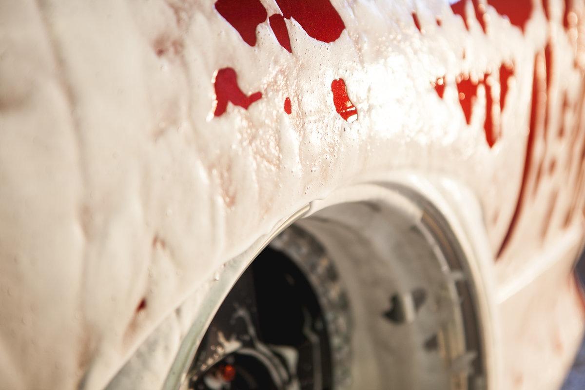 Vaahdotettu auto