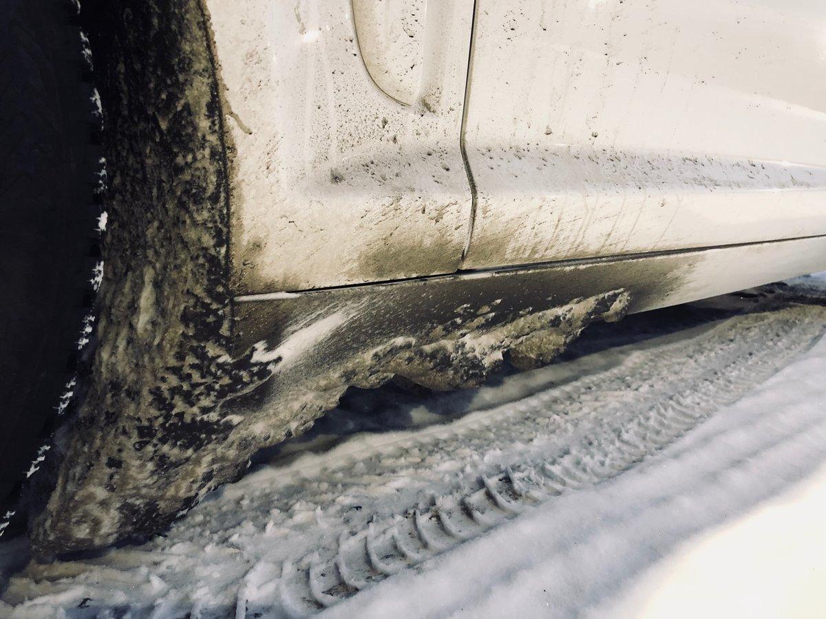 Kurainen auton helmapelti